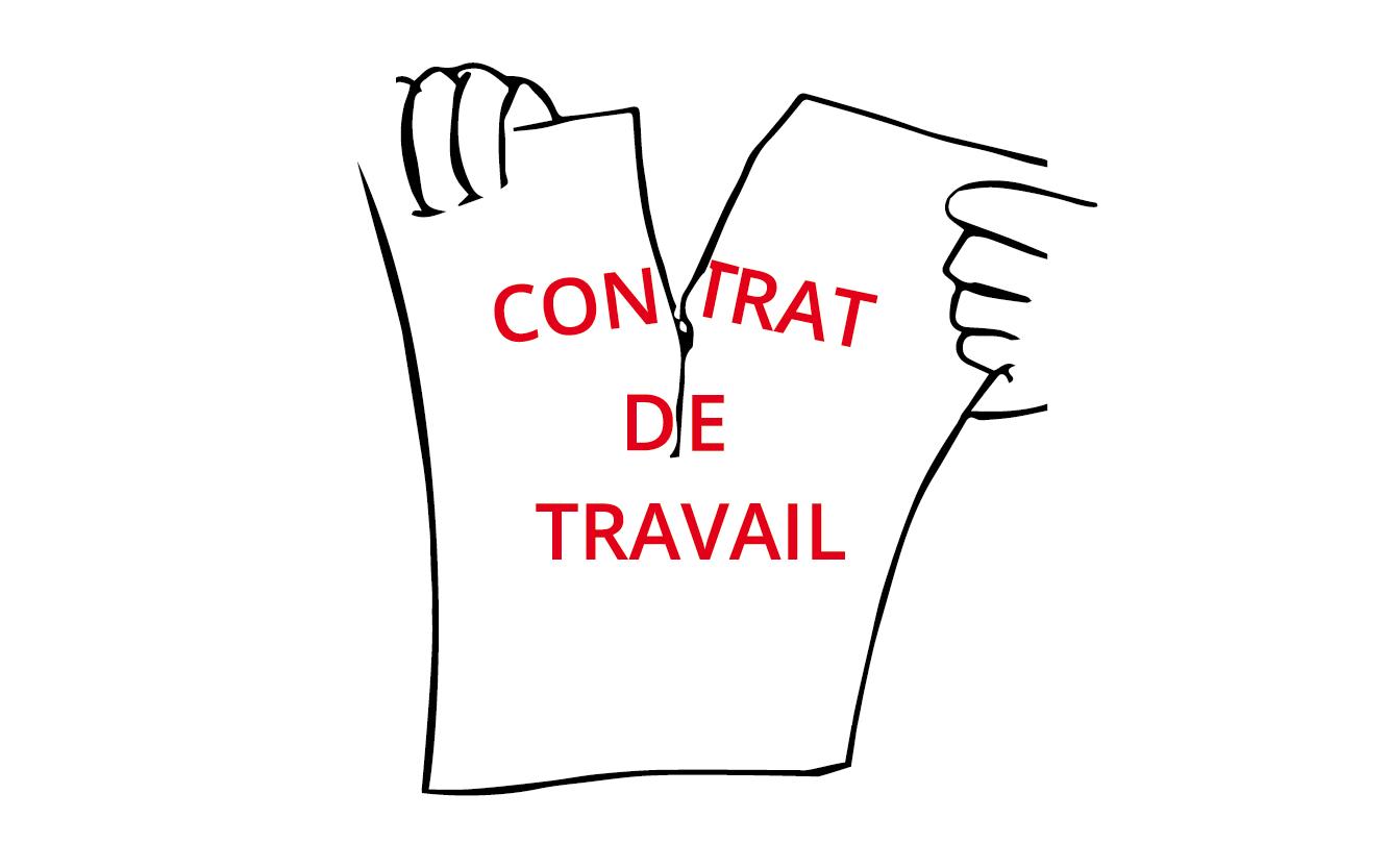 Le contrat de travail n'est plus un contrat. L'employeur peut en modifier toutes les clauses, y compris la rémunération fixe!