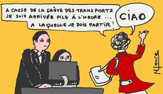 Grève du 5 décembre : la galère des salariés qui doivent se rendre au travail