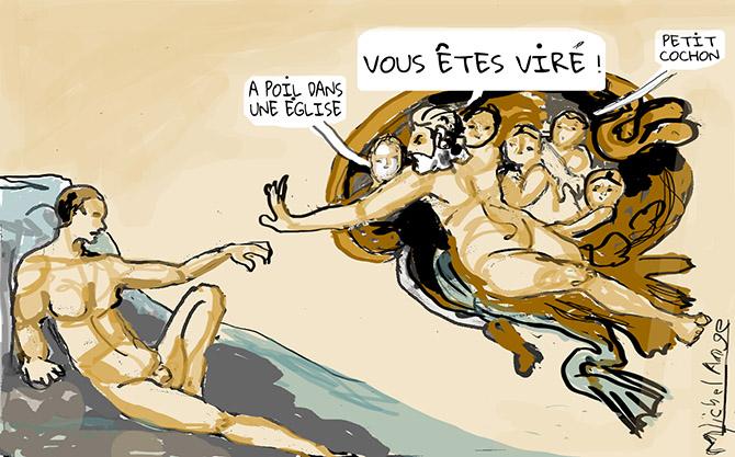 Liberté d'expression : un salarié peut-il publier une photo de lui nu sur Facebook ?