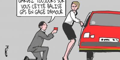 Poser une balise GPS sur le véhicule de son «ex» n'est pas une faute professionnelle