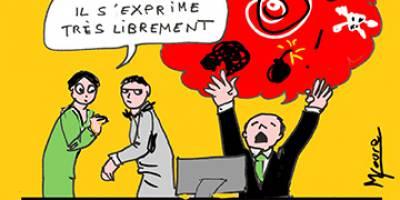 Liberté d'expression : une cause d'annulation du licenciement