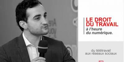A l'heure du numérique : le droit du travail a-t-il encore un avenir ? Interview de Yann-Maël Larher